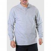 Gömlek Yaka Sweatshirt Kışlık İş Elbiseleri İş Güvenliği