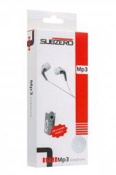 Metal Mp3 Çalar Kulaklık Hediyeli Gri Renk