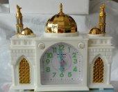 Ezan Okuyan Cami Şeklinde Alarmlı Masa Saati