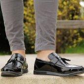 Ginnex 120 Siyah Rugan Casual Erkek Ayakkabı