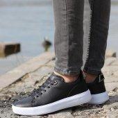 Conteyner 513 Royal Siyah Erkek Günlük Ayakkabı