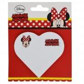 Notıx Mınnıe Kalp Fp Mınnıe Mouse Yapışkanlı Not Kağıdı Kalpli