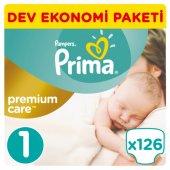 Prima Premium Care Bebek Bezi No 1 Yenidoğan 2 5 Kg 126 Adet