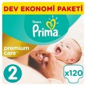Prima Premium Care Bebek Bezi No 2 Mini 3 6 Kg 120 Adet