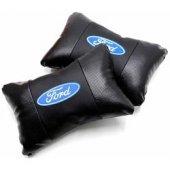 Simoni Racing Ford Logolu Deri Ortopedik Boyun Yastığı