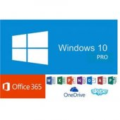 Windows 10 Pro Lisans Anahtarı Retail Key + Microsoft Office 365 Mail Hesabı