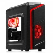 Dark F40 2x Kırmızı Led Fan Usb3.0 Pencereli M Atx Kasa