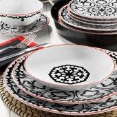 Kütahya Porselen 596612 Desen 24 Parça Yemek Takımı