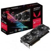 Asus 8gb Amd Rx Vega64 Rog Strix Gaming Rxvega64 O8g Hbm2 2048bit 2x Hdmı Dvı 2x Displayport 16x (Pcıe 3.0) 295w 750w