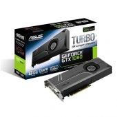 Asus 8gb Nvidia Gtx1080 Turbo Gtx1080 8g Ddr5 256bit 2x Hdmı Dvı 2x Displayport 16x (Pcıe 3.0) 180w 500w 10.0ghz