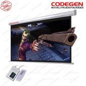 Codegen Ex20 200x200 Motorlu Projeksiyon Perdesi