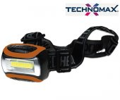 Technomax Tm 8001 Cob Led Pilli 3 W Kafa Feneri