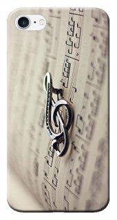 Iphone 6 6s Kılıf Silikon Baskılı Music Art Stk 274