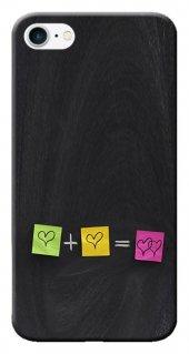 Iphone 6 6s Kılıf Silikon Baskılı Kalp Stk 302