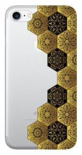 Iphone 6 6s Kılıf Silikon Baskılı Desen Tasarım Stk 332