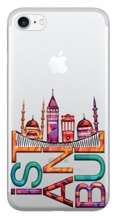 Iphone 6 6s Kılıf Silikon Baskılı İstanbul Stk 338