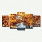 Cadran Wood Art Collection 5 Parçalı Mdf Tablo Esc034