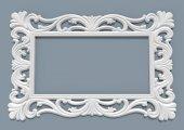 Papatya Ayna Cercevesı 90x180 Beyaz