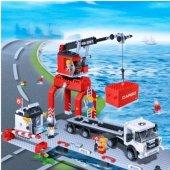 Banbao 538 Parça Oyuncak Lego Liman Seti