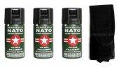 Biber (Nato) Gazı 3'lü Set Bekçi (40ml 50ml)