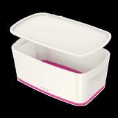 Leitz Mybox Saklama Kutusu Pembe Beyaz L 5229