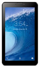 Fluo Surf 7 İnç Siyah Tablet