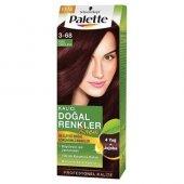 Palette Natural 3.68 Kızıl Çikolata Kalıcı Saç Boyası