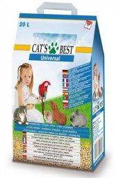 Cats Best Universal Bitkisel Kuş Kemirgen Ve Kedi Kumu 20 Lt (11