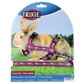 Trixie Tavşan Göğüs Tasma Seti 25 44 Cm10 Mm