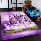 Saray Desenli Çocuk Odası Halısı