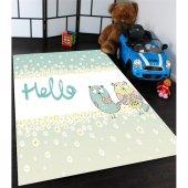 Hello Baykuslu Çocuk Odası Halısı