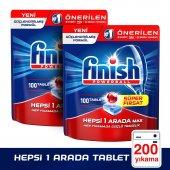 Finish Bulaşık Makinesi Deterjanı Hepsi Bir Arada Tablet 2x100lü