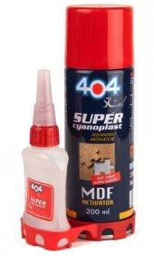 404 Hızlı Yapıştırıcı 5 Adet (Çift Komponentli) 200 Ml Hızlı Co