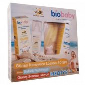 Biobaby Spf 50 Bebek Güneş Losyonu 100ml +bebek Peştemali + After