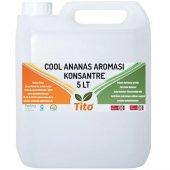 Tito Cool Ananas Aroması Suda Çözünür 5 Lt