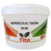 Tito Hemiselülaz Enzimi 20 Kg