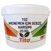 Tito Toz Menemen İçin Sebze Karışımı 25 Kg