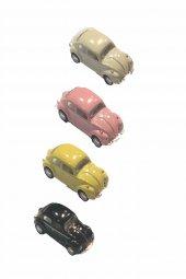 4 Lü Mini Tosbağa Çek Bırak Araba Df Vw 005