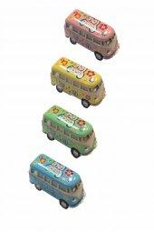 4 Lü Mini Vw Minibüs Çek Bırak Araba Df Vw 002
