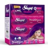 Sleepy Sensitive Yenidoğan Islak Pamuklu Havlu 4 X 40 Adet