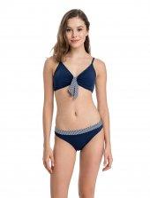 Dagi 1112bk Luplu Etekli Bikini Takımı
