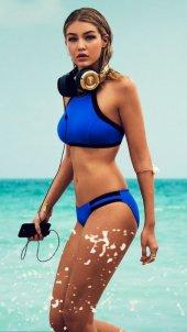 Angelsin Mavi Şık Tankini Bikini