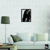Bob Marley Metal Tablo Duvar Dekoru