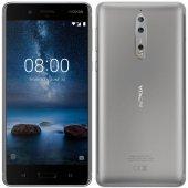 Nokia 8 64gb Gri Renk (Nokia Tr Garantili)
