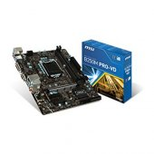 Msı Intel B250m Pro Vd B250 Ddr4 2400 Vga Glan 1151p 7 M.2 Sata U