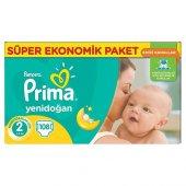 Prima Aktif Bebek 2 Beden Mini 108 Adet Fırsat Paketi Bebek Bezi