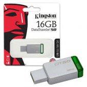 Kingston Datatraveler50 16gb Usb 3.0 Metal Bellek Dt50 16gb