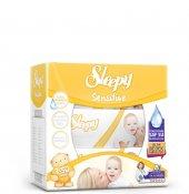 Sleepy Sensitive 3x50 Li Kapaklı Islak Havlu