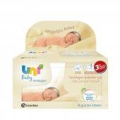 Uni Baby Yeni Doğanlar İçin Islak Mendil 3 Lü
