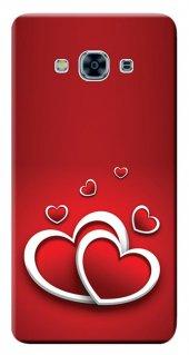 Samsung Galaxy J3 Pro 2016 Kılıf Sm J3110 Silikon Baskılı Kalpler